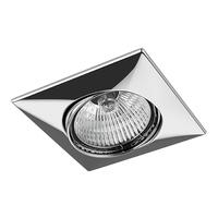 011034 Lega16Светильник точечный встраиваемый декоративный под заменяемые галогенные или LED лампы