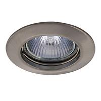 011015 Lega16Светильник точечный встраиваемый декоративный под заменяемые галогенные или LED лампы