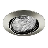 011025 Lega16Светильник точечный встраиваемый декоративный под заменяемые галогенные или LED лампы
