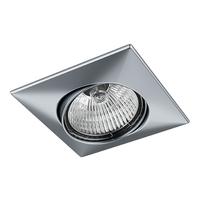 011039 Lega16Светильник точечный встраиваемый декоративный под заменяемые галогенные или LED лампы