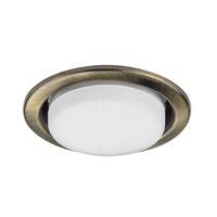 212111 TensioСветильник точечный встраиваемый декоративный под заменяемые КЛЛ или LED лампы