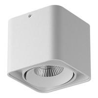 212516 MonoccoСветильник точечный накладной декоративный под заменяемые галогенные или LED лампы