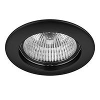 011017 Lega16Светильник точечный встраиваемый декоративный под заменяемые галогенные или LED лампы