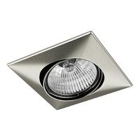 011035 Lega16Светильник точечный встраиваемый декоративный под заменяемые галогенные или LED лампы