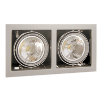 214127 CardanoСветильник точечный встраиваемый декоративный под заменяемые галогенные или LED лампы