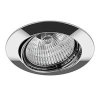 011024 Lega16Светильник точечный встраиваемый декоративный под заменяемые галогенные или LED лампы