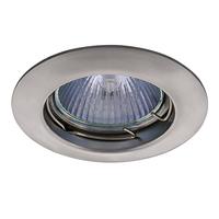 011019 Lega16Светильник точечный встраиваемый декоративный под заменяемые галогенные или LED лампы