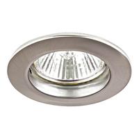 011045 Lega11Светильник точечный встраиваемый декоративный под заменяемые галогенные или LED лампы