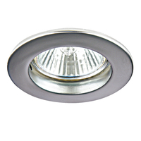 011049 Lega11Светильник точечный встраиваемый декоративный под заменяемые галогенные или LED лампы