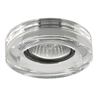 006150 LeimicroСветильник точечный встраиваемый декоративный под заменяемые галогенные или LED лампы