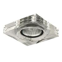 006160 LuimicroСветильник точечный встраиваемый декоративный под заменяемые галогенные или LED лампы