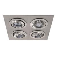 011604 SingoСветильник точечный встраиваемый декоративный под заменяемые галогенные или LED лампы