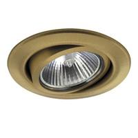 011083 TesoadjСветильник точечный встраиваемый декоративный под заменяемые галогенные или LED лампы