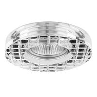 006310 FacetocrСветильник точечный встраиваемый декоративный под заменяемые галогенные или LED лампы