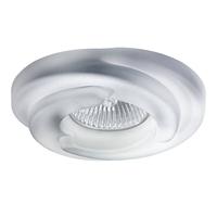 006401 SpiraСветильник точечный встраиваемый декоративный под заменяемые галогенные или LED лампы