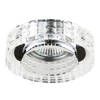 006350 FacetoСветильник точечный встраиваемый декоративный под заменяемые галогенные или LED лампы