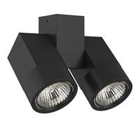 051037 IllumoX2Светильник точечный накладной декоративный под заменяемые галогенные или LED лампы