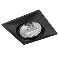 011037 Lega16Светильник точечный встраиваемый декоративный под заменяемые галогенные или LED лампы