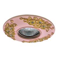 042122 CeramoСветильник точечный встраиваемый декоративный под заменяемые галогенные или LED лампы
