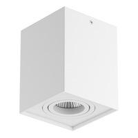052076 RettangoСветильник точечный накладной декоративный под заменяемые галогенные или LED лампы
